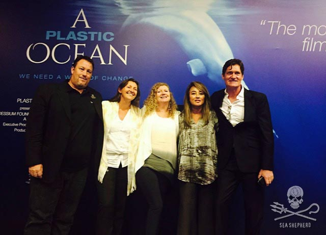 Hong Kong Premiere of A Plastic Ocean with the film-makers Jo Ruxton and Craig Leeson